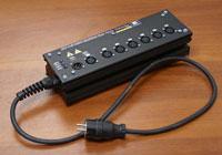 PL65333. DT-1-6 DMX Splitter Box Data Transfer
