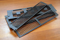 Вентиляционные стальные панели для туровых и стационарных рэков